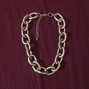 Chunky Chain Statement Necklace